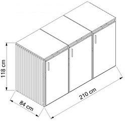 Edelstahl-Holz-3x240