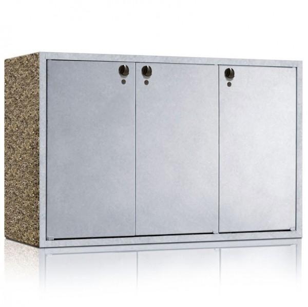 Mülltonnenbox KLASSIK 1203 Dreifachschrank Vorschaubild