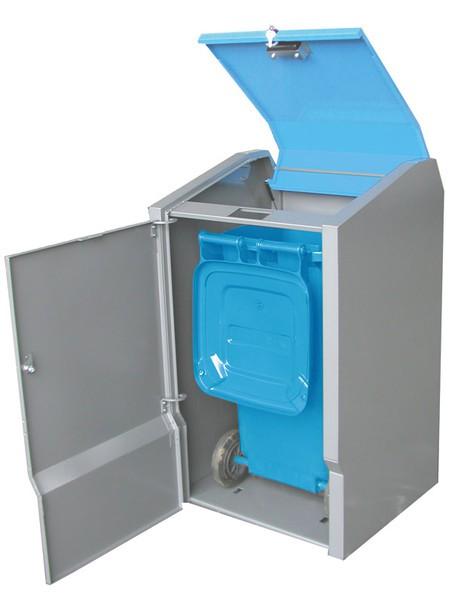 Mülltonnenbox SECOMAT S-K 1x 120 / 240 Liter