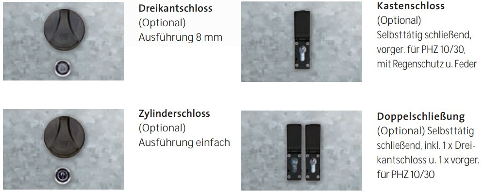Verschluss-Systeme-Klassik-Linie