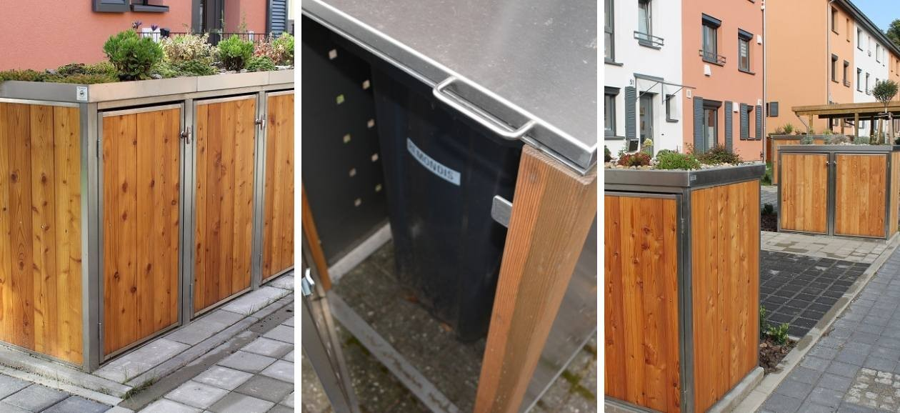 Welche Mülltonnenbox Aus Holz