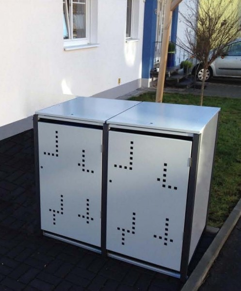 Müllbox Novel 2x 120 Liter