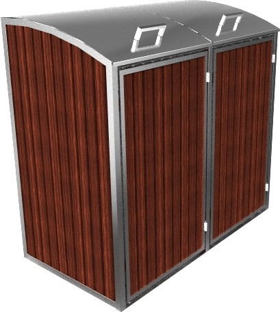 Mülltonnenbox Charisma 2x 120 / 240 Liter