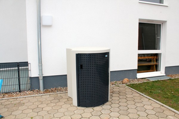 Mülltonnenbox Curve 120 / 240 Liter