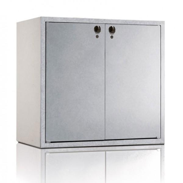 Mülltonnenbox KLASSIK Doppelschrank 1202 Vorschaubild
