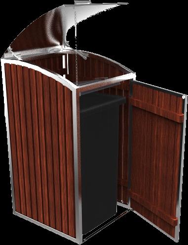 Mülltonnenbox Charisma 1x 120 / 240 Liter