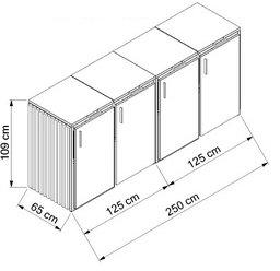 Holz-Edelstahl-4x120