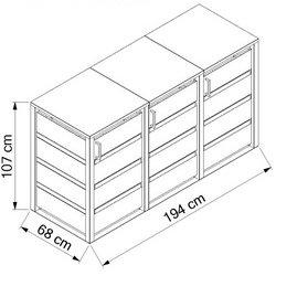 Wooden-3x120