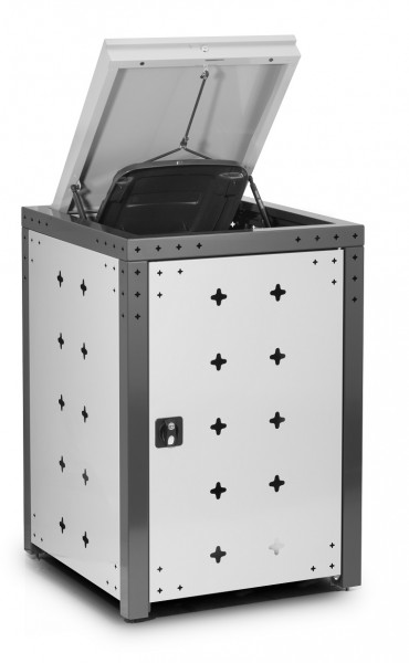 Mülltonnenbox Elite aus Magnelis Stahlblech