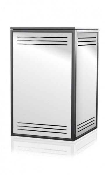 Mülltonnenbox Edelstahl Flavor 1x 120 / 240 Liter