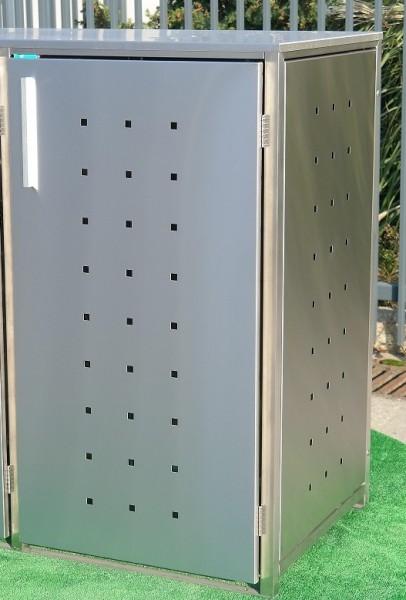 Mülltonnenbox Inox 1x 120/240 Liter