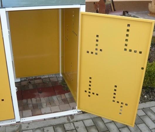 Durchgangstür für Metall Müllboxen