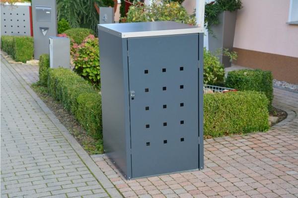 Mülltonnenbox Quadra II 120 und 240 Liter