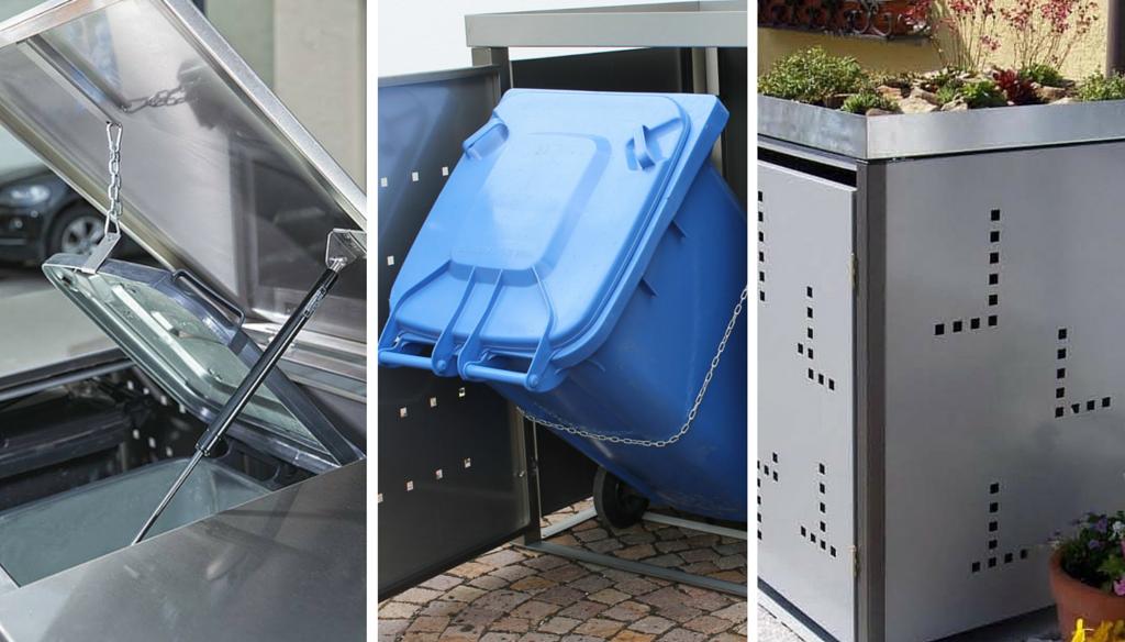Features und Eigenschaften der RESORTI-Mülltonnenboxen
