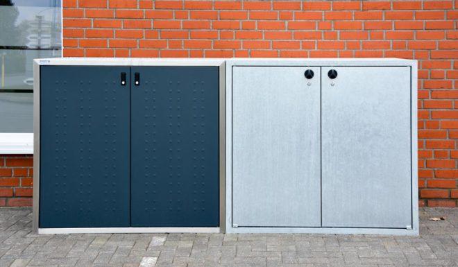 Beton-Mülltonnenboxen- Klassik-Linie oder Silent-Linie - RESORTI Mülltonnenboxenratgeber (c) 2016 RESORTI