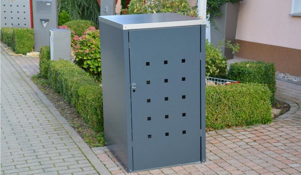 Mülltonnenboxen aus Metall